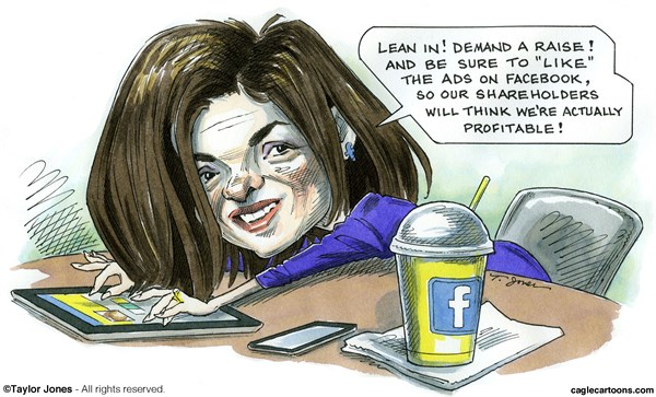 128676 600 Sheryl Sandberg Leans In cartoons