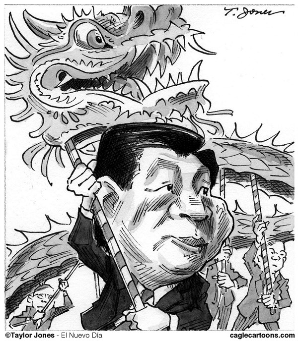 128766 600 Xi Jinping consolidates power cartoons
