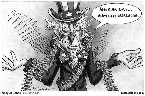 Taylor Jones - El Nuevo Dia, Puerto Rico - Guns in America - English - 		guns,gun,violence,navy,yard,massacre,gun control,second,amendment,mental,illness,anger,management,uncle,sam