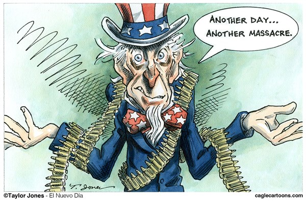 Taylor Jones - El Nuevo Dia, Puerto Rico - Guns in America - COLOR - English - 		guns,gun,violence,navy,yard,massacre,gun control,second,amendment,mental,illness,anger,management,uncle,sam
