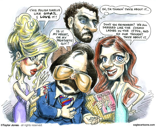 142524 600 Movie review   American Hustle cartoons