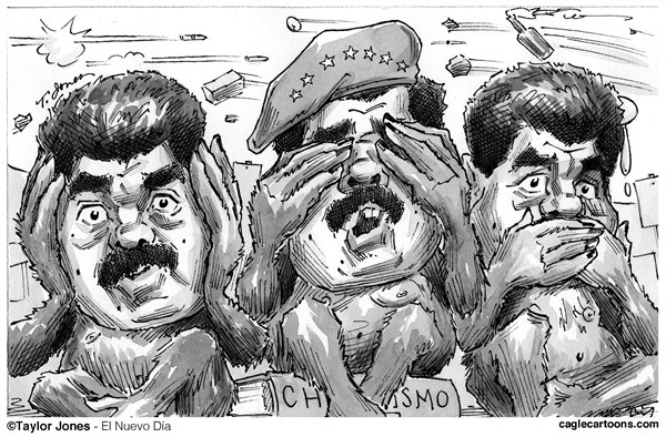 145761 600 Three faces of Nicolas Maduro cartoons