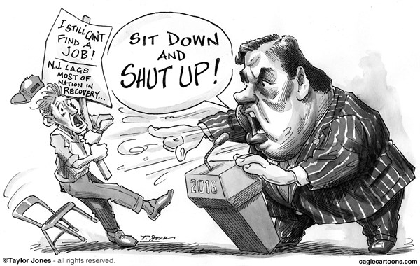 156475 600 Chris Christie   Bully Pulpit cartoons