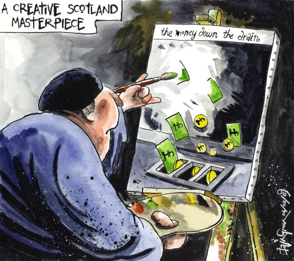 Iain Green - The Scotsman, Scotland - Creative Scotland Catastrophe - English - Arts, Scotland, culture, government, Scottish government