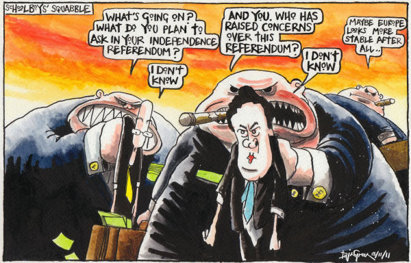 Iain Green - The Scotsman, Scotland - Scottish Referendum Business Fears - English - Scotland, UK, Scottish Independence Referendum, Alex Salmond, John Swinney, George Osborne