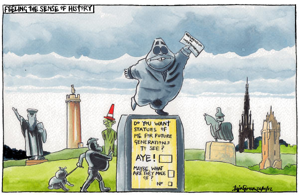 105278 600 SCOTTISH MONUMENT MOMENTS cartoons