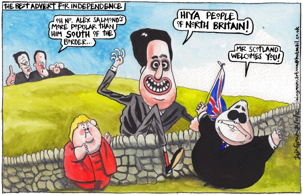 105448 600 Scottish Independence Unionist Promotion cartoons