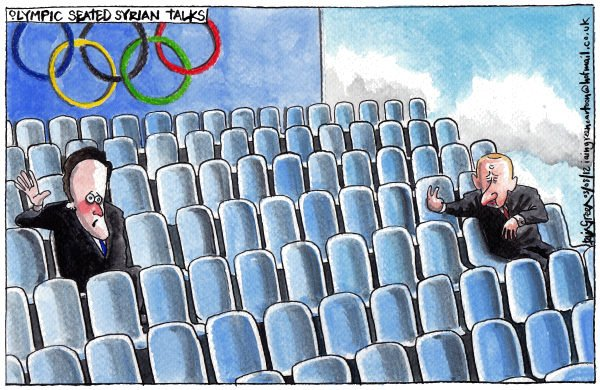116413 600 CAMERON PUTIN OLYMPIC SEATED SYRIAN TALKS cartoons