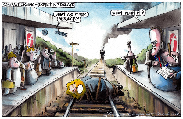 117745 600 UK WEST COAST RAIL DEAL cartoons