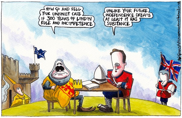 Iain Green - The Scotsman, Scotland - SCOTTISH INDEPENDENCE REFERENDUM TERMS AGREED - English - Scotland, uk, alex salmond, david cameron, independence, referendum, edinburgh agreement, nicola sturgeon, michael moore