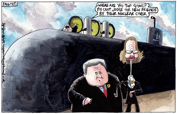 121036 600 SNP NATO MEMBERSHIP RESIGNATIONS cartoons