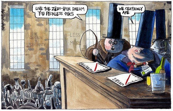Iain Green - The Scotsman, Scotland - UK ZERO HOUR EMPLOYMENT CONTRACTS - English - UK, britain, employment, jobs, zero hours, iain duncan smith, low wages, workhouse