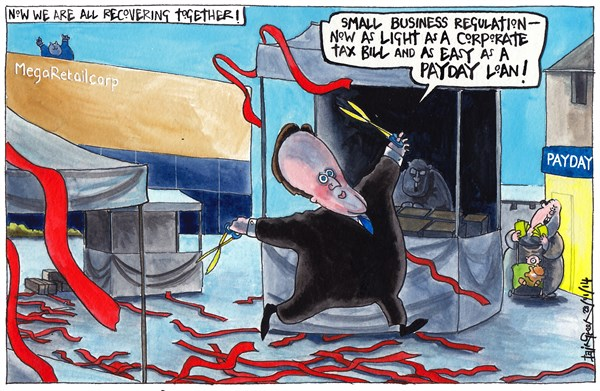 Iain Green - The Scotsman, Scotland - UK GOVT CUTS BUSINESS RED TAPE - English - UK, Britain, david cameron, prime minister, business, red tape, market, corporate, retail, poor, rich, payday loans, market place, scissors