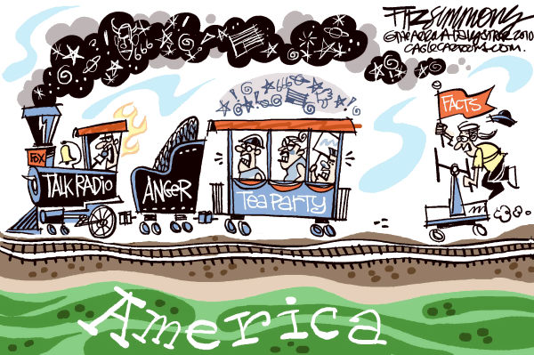 David Fitzsimmons - The Arizona Star - tea party express - English - tea party