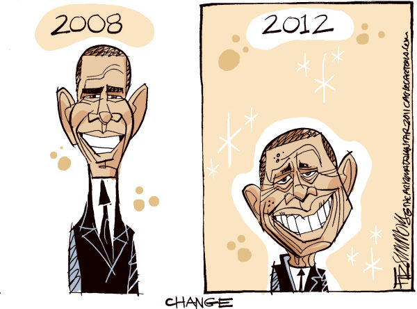 Barack OJimmy Color © David Fitzsimmons,The Arizona Star,Barack Obama, jimmy carter