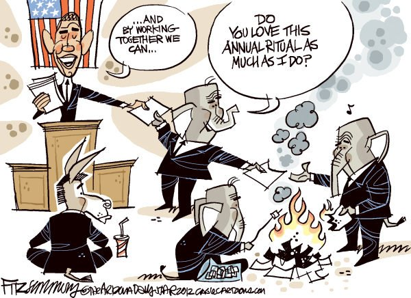 105058 600 Obamas State of the Union cartoons