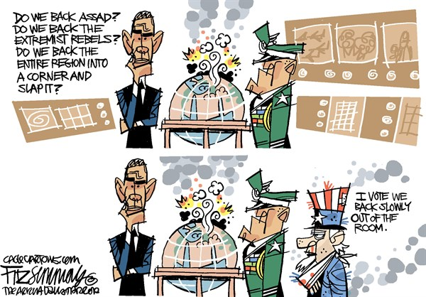 David Fitzsimmons - The Arizona Star - syria COLOR - English - syria,middle east