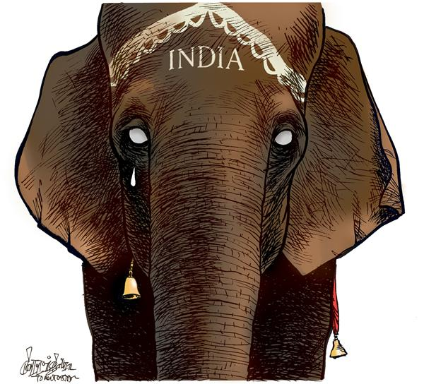 India mourns © Patrick Corrigan,The Toronto Star,India, terrorism, Mumbai