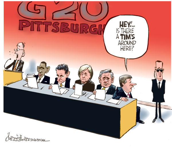 Patrick Corrigan - The Toronto Star - Harper goes to Pittsburgh - English - Canada, Harper, Obama, G20, Pittsburgh