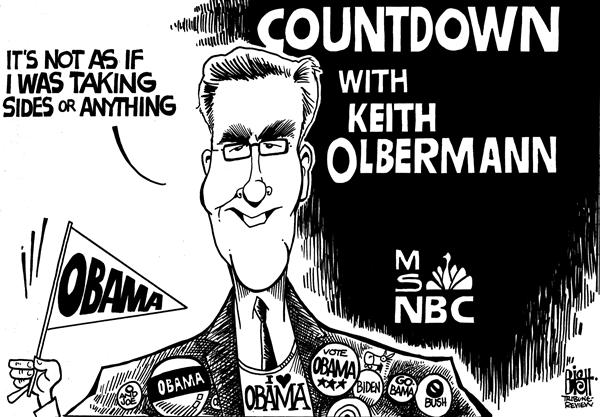 Randy Bish - Pittsburgh Tribune-Review - MSNBC Olbermann, b/w - English - MSNBC,OLBERMANN,MATTHEWS