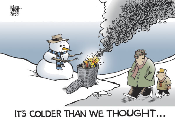 Randy Bish - Pittsburgh Tribune-Review - COLDER THAN WE THOUGHT, COLOR - English - COLD,WINTER,WEATHER