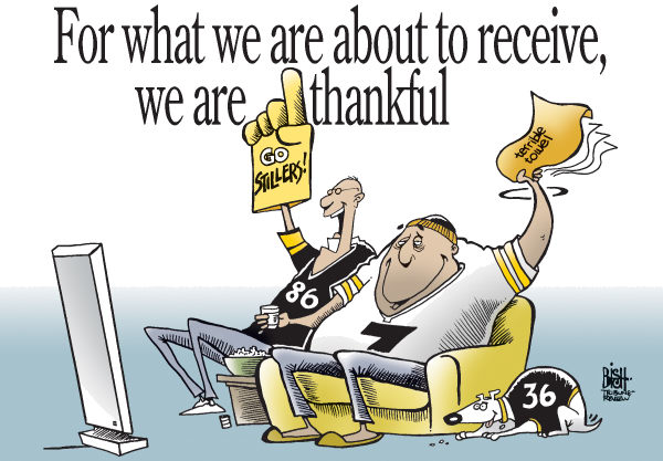 60534 600 STEELERS FANS cartoons