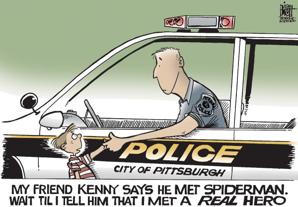 Randy Bish - Pittsburgh Tribune-Review - LOCAL- PA, A REAL HERO, COLOR - English - PITTSBURGH,POLICE,SHOOTING,POLICEMEN,DEAD,Paul J Sciullo II,Stephen J Mayhle,Eric G Kelly