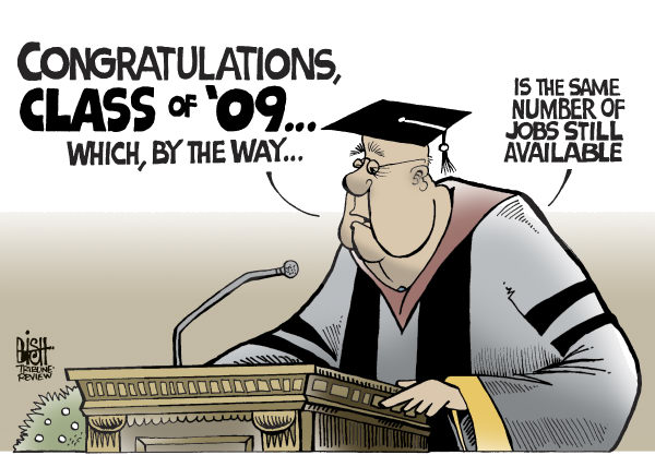 Randy Bish - Pittsburgh Tribune-Review - GRADUATION 2009, COLOR - English - GRADUATION,JOBS,EMPLOYMENT