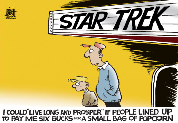 Randy Bish - Pittsburgh Tribune-Review - STAR TREK, COLOR - English - STAR TREK,MOVIE,THEATER,CONCESSIONS