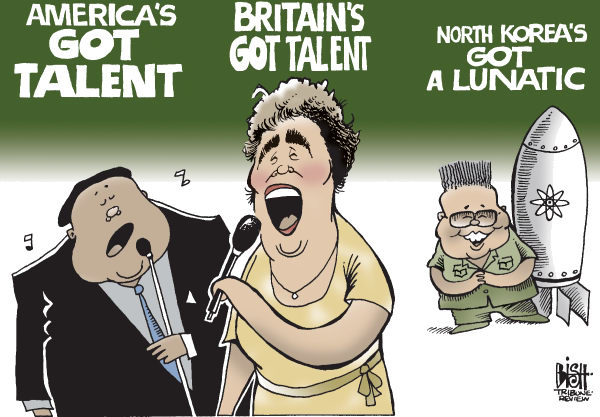 Randy Bish - Pittsburgh Tribune-Review - WHAT NORTH KOREAS GOT, COLOR - English - KIM JONG IL, NORTH KOREA, NUCLEAR