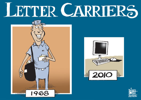 80618 600 LETTER CARRIERS cartoons