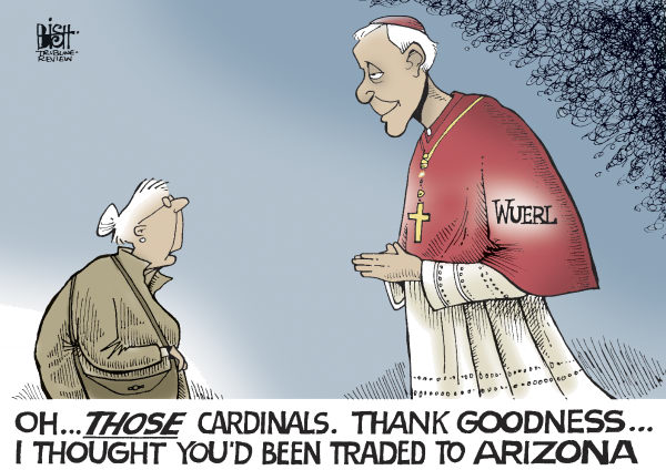 84653 600 ARCHBISHOP WUERL cartoons