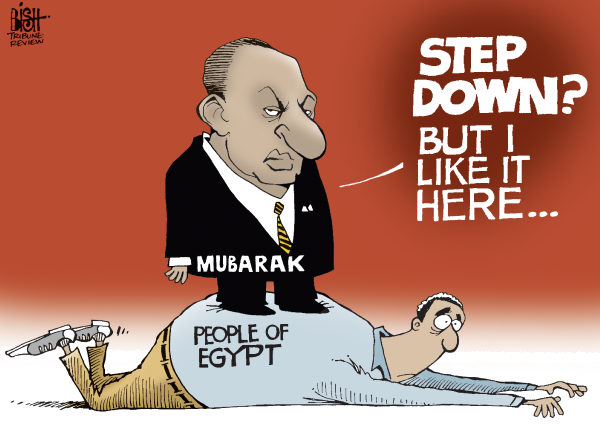 89146 600 STEP DOWNMUBARAK cartoons