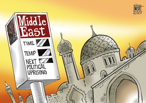 89468 600 MIDDLE EAST UNREST cartoons
