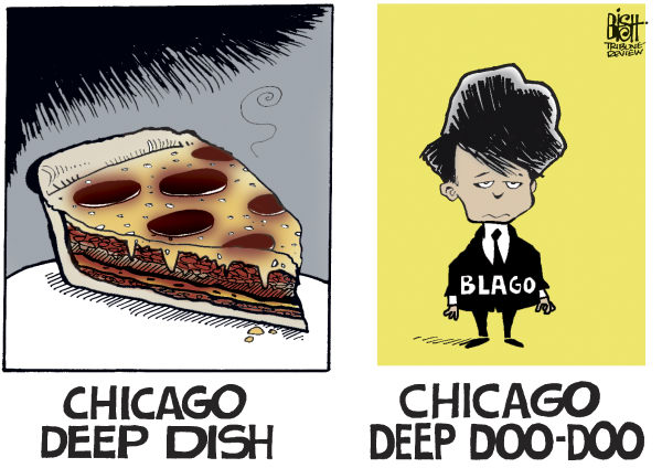 BLAGOJEVICH DOO DOO, COLOR © Randy Bish,Pittsburgh Tribune-Review,BLAGOJEVICH, ROD, GOVERNOR, ILLINOIS, CHICAGO, GUILTY, PRISON, JAIL, CONVICTED, SENTENCED