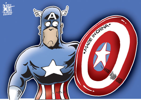 95980 600 THE END OF CAPTAIN AMERICA cartoons