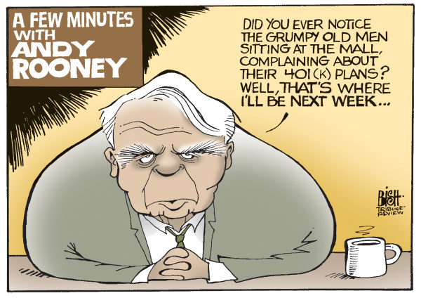 98708 600 Andy Rooney Retires cartoons