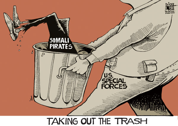 SOMALI TRASH, COLOR © Randy Bish,Pittsburgh Tribune-Review,SOMALIA, SOMALI, PIRATES, HOSTAGE HOSTAGES, SPECIAL FORCES, UNITED STATES