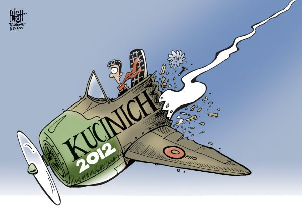 107706 600 KUCINICH GOES DOWN cartoons
