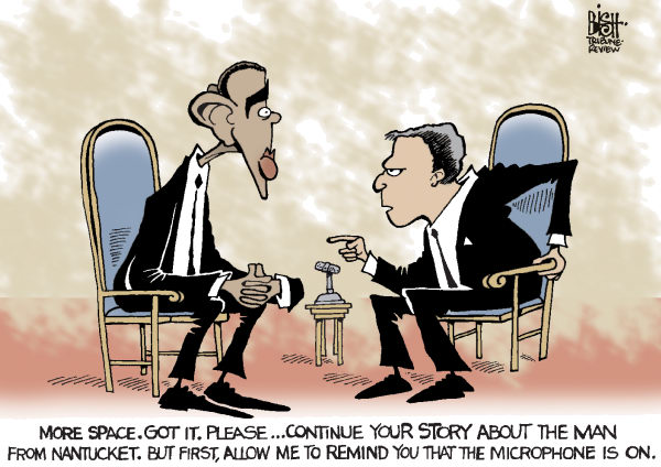 Randy Bish - Pittsburgh Tribune-Review - OBAMA AND OPEN MICROPHONES, COLOR - English - OPEN MICROPHONES, MICROPHONE, OBAMA, RUSSIAN, PUTIN, COMMENTS, MEDVEDEV, SUMMIT