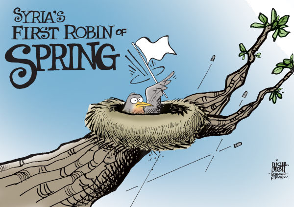 109587 600 SPRINGTIME IN SYRIA cartoons
