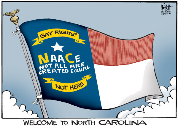 Randy Bish - Pittsburgh Tribune-Review - NORTH CAROLINA GAY MARRIAGE, COLOR - English - NORTH CAROLINA, GAY MARRIAGE, MARRIAGES, GAY, AMENDMENT