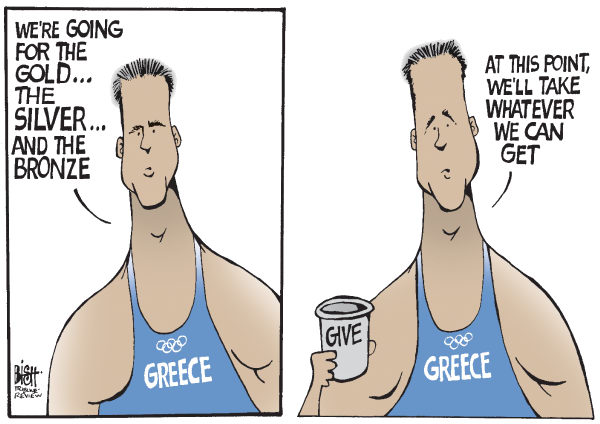115944 600 GREECE AT THE OLYMPICS cartoons