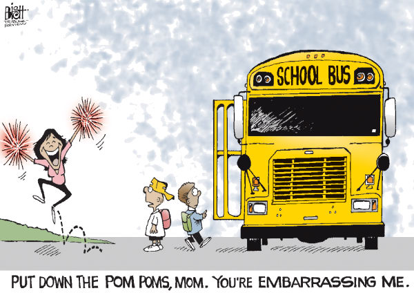 Randy Bish - Pittsburgh Tribune-Review - BACK TO SCHOOL, COLOR - English - SCHOOL, BACK TO SCHOOL, PARENTS, CHILDREN