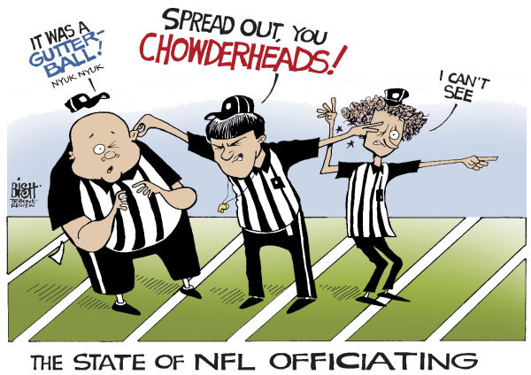 Randy Bish - Pittsburgh Tribune-Review - NFL REFEREES, COLOR - English - NFL, FOOTBALL, REFEREES, REFEREE, REPLACEMENT