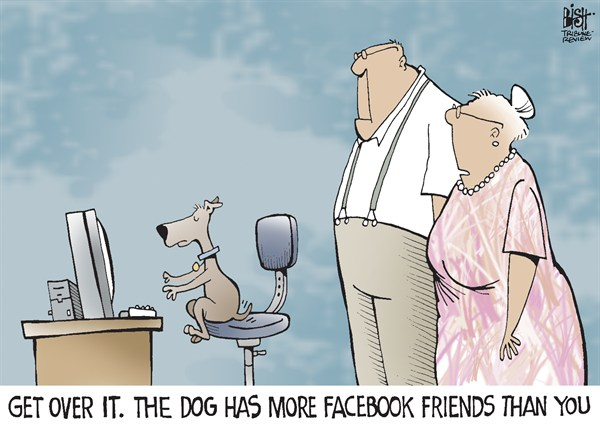 Randy Bish - Pittsburgh Tribune-Review - FACEBOOK FRIENDS, COLOR - English - FACEBOOK, ONLINE, FRIENDS, SOCIAL MEDIA, COMPUTER