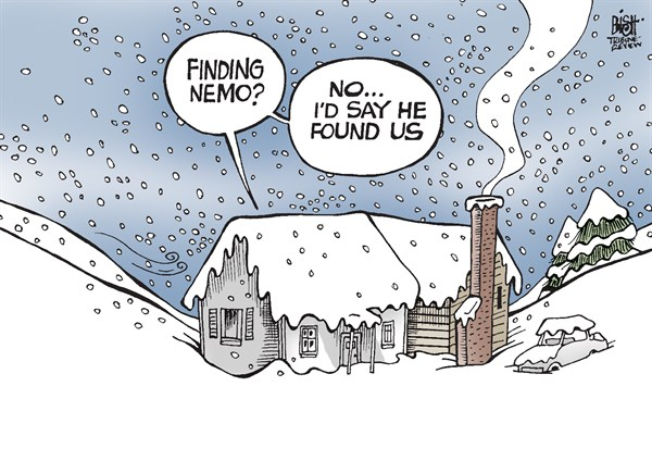 Randy Bish - Pittsburgh Tribune-Review - NEMO HITS THE EAST, COLOR - English - NEMO, BLIZZARD, SNOW, STORM, EAST COAST, WINTER