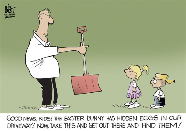 129215 600 SNOW FOR EASTER cartoons