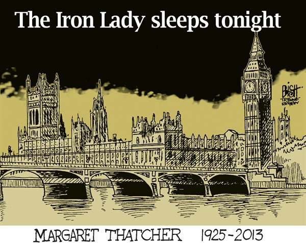 129908 600 MARGARET THATCHER cartoons