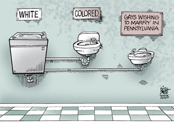 Randy Bish - Pittsburgh Tribune-Review - LOCAL- PA GAY MARRIAGE BAN, COLOR - English - PENNSYLVANIA, GAY, MARRIAGE, BAN, DISCRIMINATION